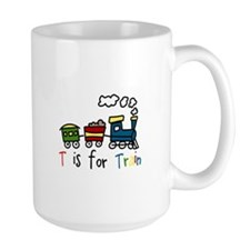 T Is For Train Mugs