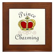 Prince Charming Framed Tile