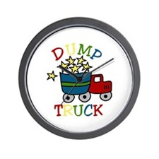 Dump Truck Wall Clock