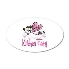 KITCHEN FAIRY Wall Decal