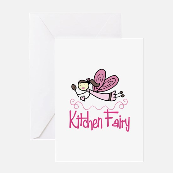 KITCHEN FAIRY Greeting Cards