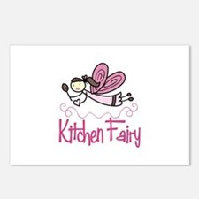 KITCHEN FAIRY Postcards (Package of 8)
