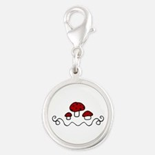 Red Mushrooms Charms
