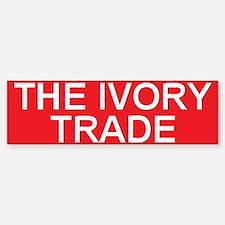 stop the ivory trade Bumper Bumper Bumper Sticker