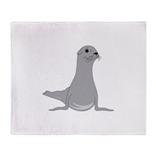Seal Throw Blanket