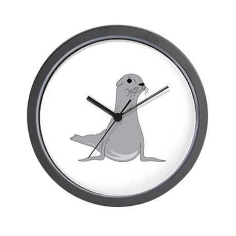 Seal Wall Clock By Embroidery5