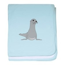 Seal baby blanket
