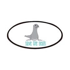 Save the Seals Patches