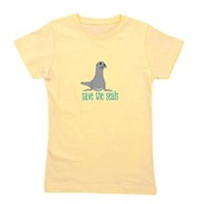 Save the Seals Girl's Tee