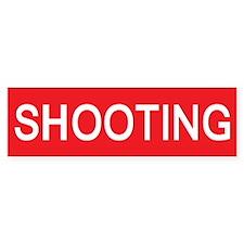 stop shooting Bumper Bumper Sticker