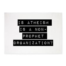 Is Atheism A Non-Prophet Organization 5'x7'Area Ru
