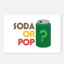 Soda Or Pop? Postcards (Package of 8)