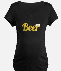 Beer Maternity T-Shirt