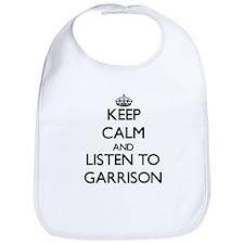 Keep Calm and Listen to Garrison Bib