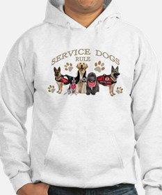Service Dogs Rule Gifts and Apparel Hoodie