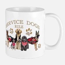 Service Dogs Rule Gifts and Apparel Mugs
