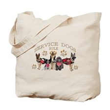 Service Dogs Rule Gifts And Apparel Tote Bag