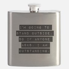 Im Going To Stand Outside Flask