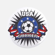 "USA Soccer 3.5"" Button (100 pack)"
