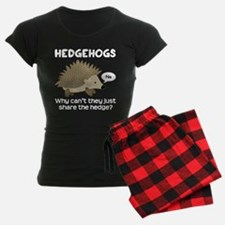 Hedgehog Pun Pajamas