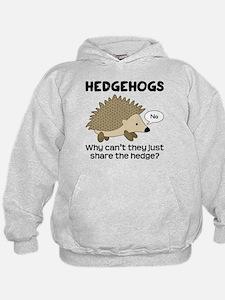 Hedgehog Pun Hoodie