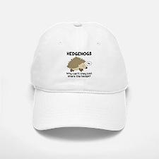 Hedgehog Pun Baseball Baseball Cap