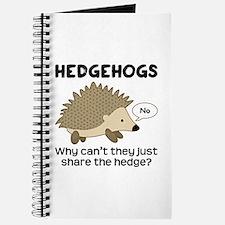 Hedgehog Pun Journal