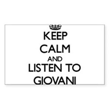 Keep Calm and Listen to Giovani Decal