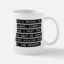 Im A Prince In Lagos Nigeria Mugs