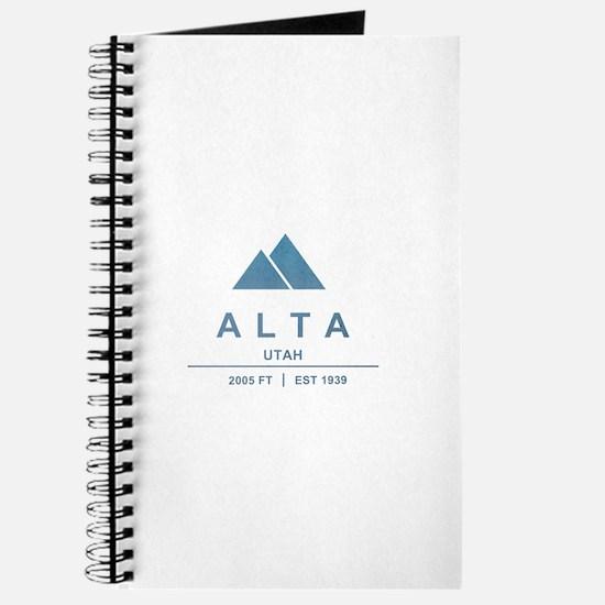 Alta Ski Resort Utah Journal