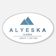 Alyeska Ski Resort Alaska Decal