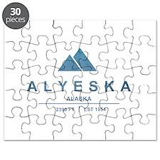 Alyeska Ski Resort Alaska Puzzle