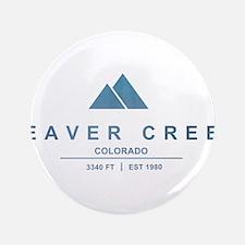 "Beaver Creek Ski Resort Colorado 3.5"" Button (100"