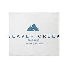 Beaver Creek Ski Resort Colorado Throw Blanket