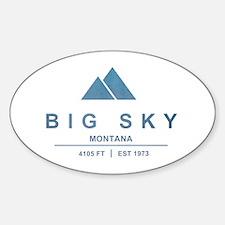 Big Sky Ski Resort Montana Decal