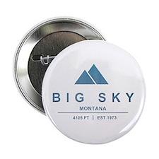 "Big Sky Ski Resort Montana 2.25"" Button"