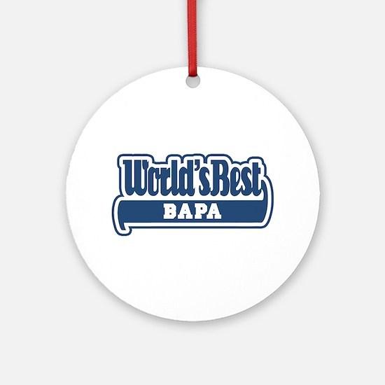 WB Dad [Malay] Ornament (Round)