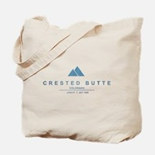 Crested Butte Ski Resort Colorado Tote Bag