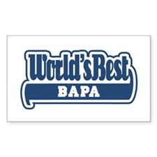 WB Dad [Malay] Rectangle Decal