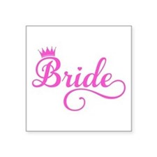 Bride pink Sticker