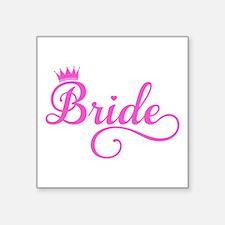 Bride pink Sticker