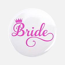 """Bride pink 3.5"""" Button"""
