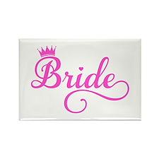Bride pink Magnets