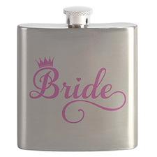 Bride pink Flask