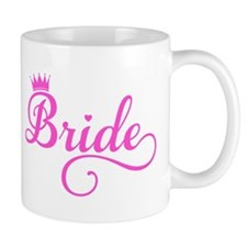 Bride pink Mugs