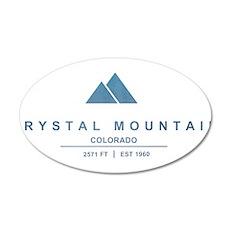 Crystal Mountain Ski Resort Colorado Wall Decal