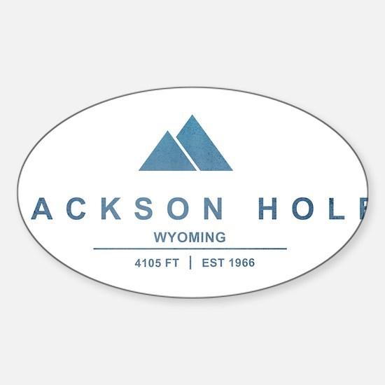 Jackson Hole Ski Resort Wyoming Decal