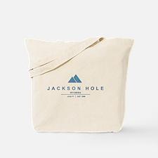 Jackson Hole Ski Resort Wyoming Tote Bag