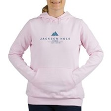 Jackson Hole Ski Resort Wyoming Women's Hooded Swe