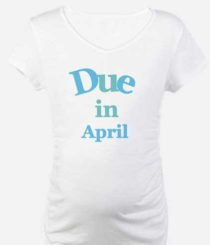 Blue Due in April Shirt